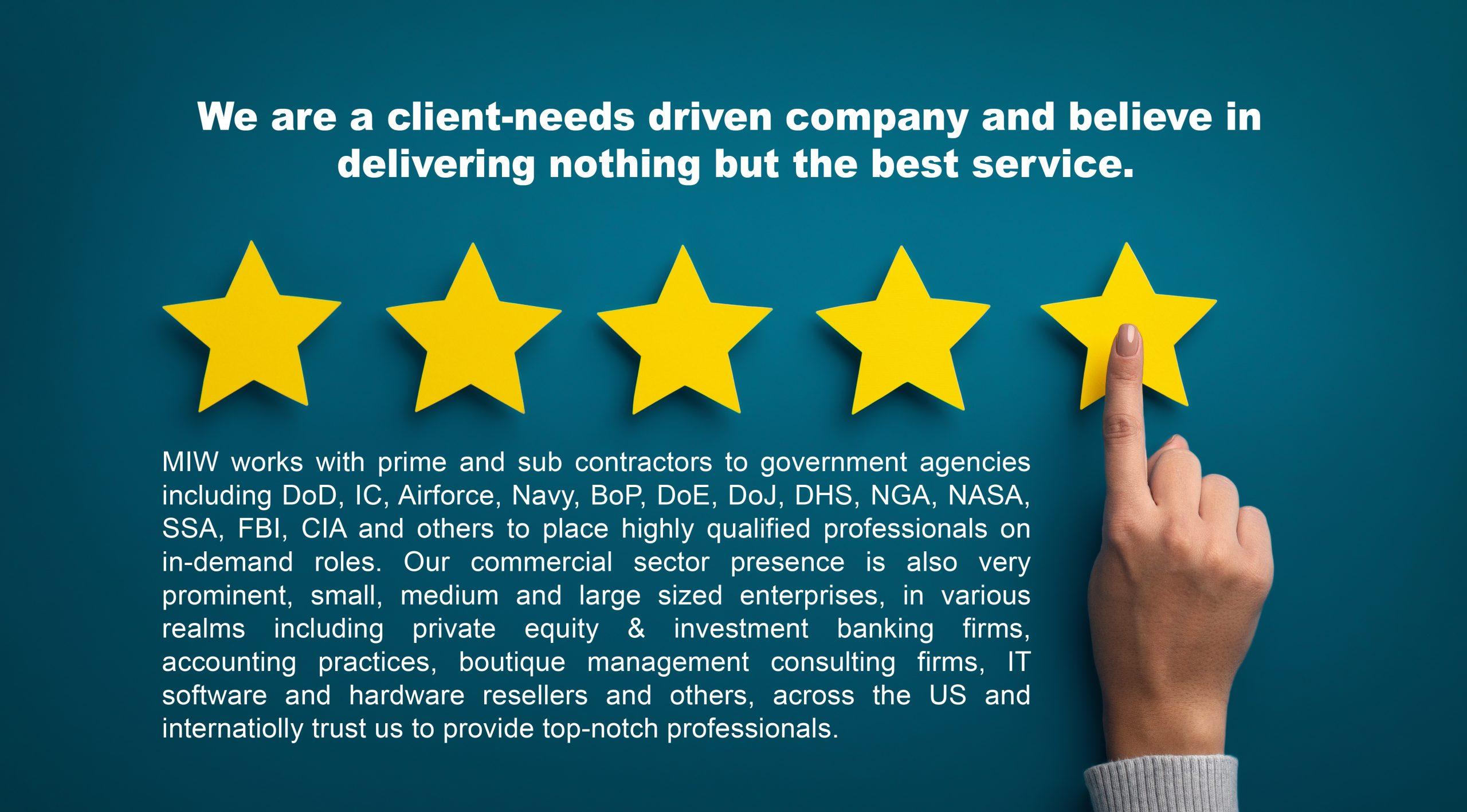 Client-needs